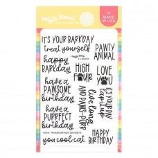 Waffle Flower - Pawsome Birthday Sentiments
