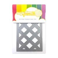 Waffle Flower - Stitched Diamond Panel Die
