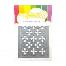 Waffle Flower - Stitched Flower Panel Die