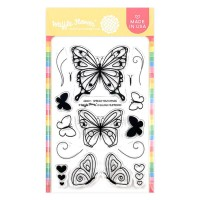Waffle Flower - Spread Your Wings Stamp Set