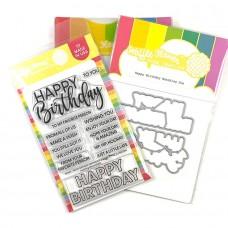 Waffle Flower - Happy Birthday Combo