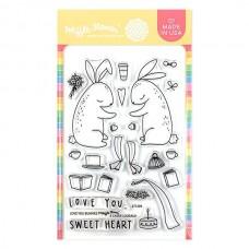 Waffle Flower - Love You Bunnies