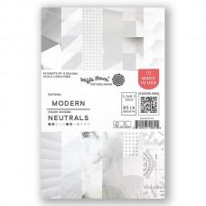 Waffle Flower - Modern - Neutrals Paper Pad