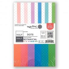 Waffle Flower - Half-Half Dots - Botanical Paper Pad