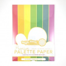 Waffle Flower - Premium Palette Paper Pad 9 x 12 inches - 30 sheets