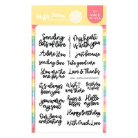 Waffle Flower - Sending Love Sentiments