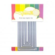 Waffle Flower - Slim Lacy Layers Die
