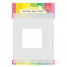 Waffle Flower - Spotlight Square Stencil