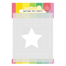 Waffle Flower - Spotlight Star Stencil