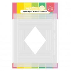 Waffle Flower - Spotlight Diamond Stencil