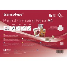 Transotype Perfect Colouring Paper A4 - 10 sheets